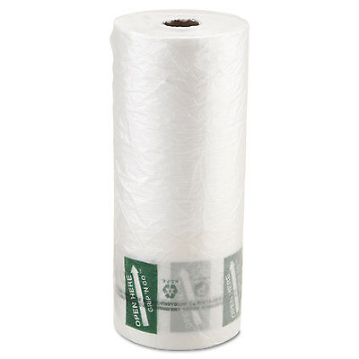 Inteplast Group Produce Bag 12 x 20 9 Microns Natural 875/Roll 4 Rolls/Carton