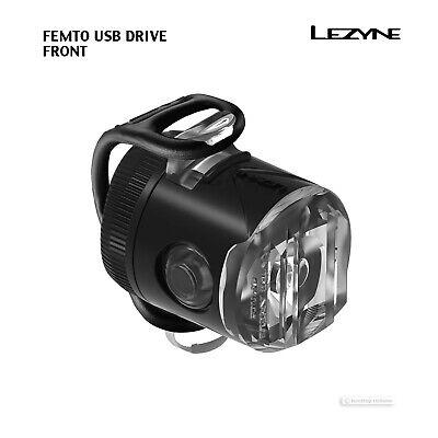 Lezyne Micro Drive 450XL LED Bike Headlight USB Rechargeable 450 Lumens Black