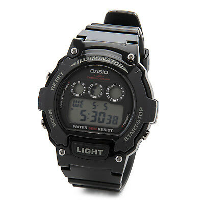 Casio Kids Classic Digital Chronograph Display Quartz Watch (Black)