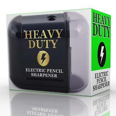 Electric Pencil Sharpener Battery Powered Heavy Duty Helical Blade (Pencil Sharpener Blades)
