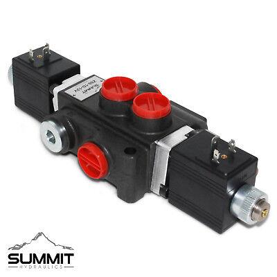 Hydraulic Monoblock Solenoid Motor Control Valve 1 Spool 13 Gpm 12v Dc