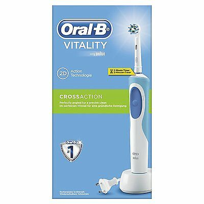 ORAL-B VITALITY CROSS ACTION - Cepillo de dientes eléctrico recargable CN 190041