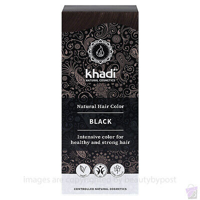 Khadi Herbal Hair Colour Black 100g