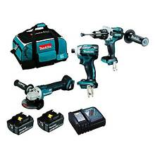 Makita DLX3054T 18V Brushless 3Piece Combo Kit Maddington Gosnells Area Preview