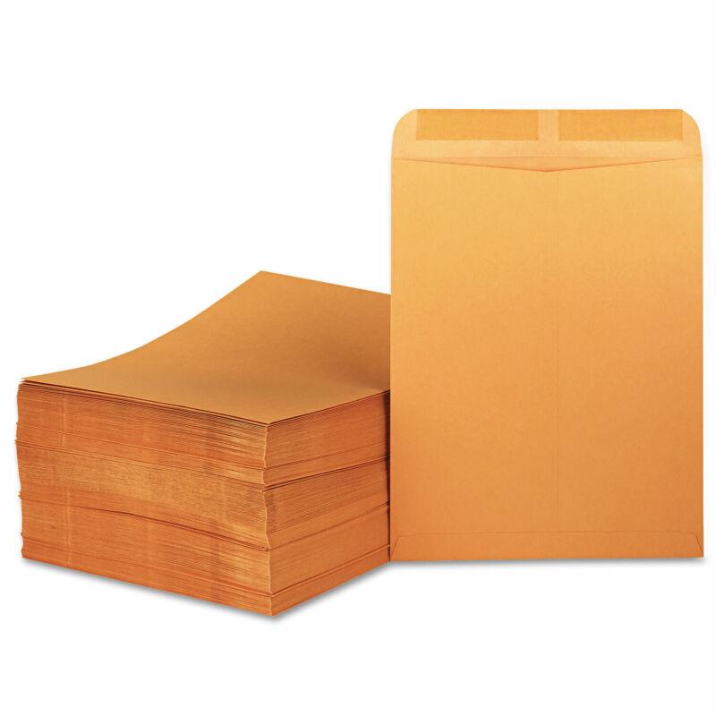 UNIVERSAL Catalog Envelope Center Seam 11 1/2 x 14 1/2 Brown Kraft 250/Box 45165