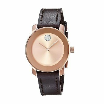 Movado 3600438 Women's Bold Rose Quartz Watch