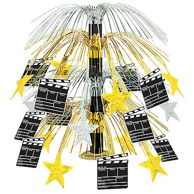 Hollywood MOVIE SET CLAPBOARD Cascade CENTERPIECE Party Decoration AWARD NIGHT