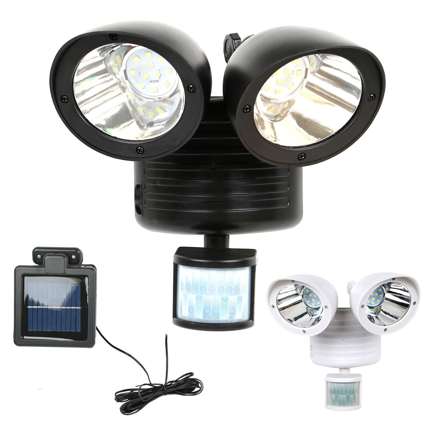security b pir lighting blooma light black oceanus external departments solar q powered prd diy bq at