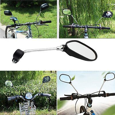 2X Bicicleta Retrovisores Lenkspiegel Set Espejo para Moto Eléctrica MTB