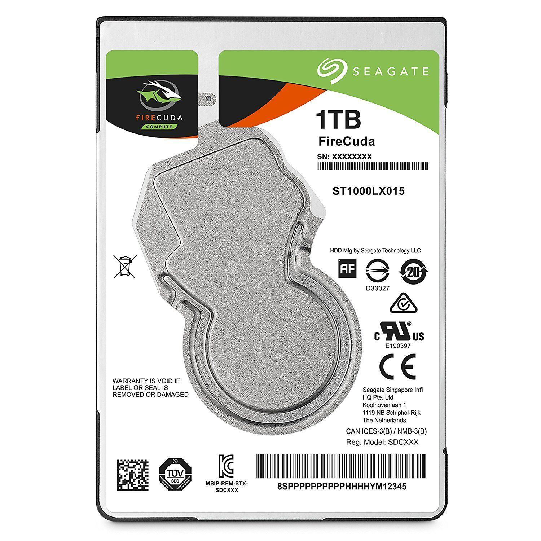 FIRECUDA 2.5IN 1TB SSHD 2.5IN HYBRID 6GB/S SATA 7MM