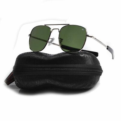 Tom Cruise Aviator Sunglasses UV400 Top Gun Pilot Tinted Glasses With (Tom Cruise Top Gun Sunglasses)