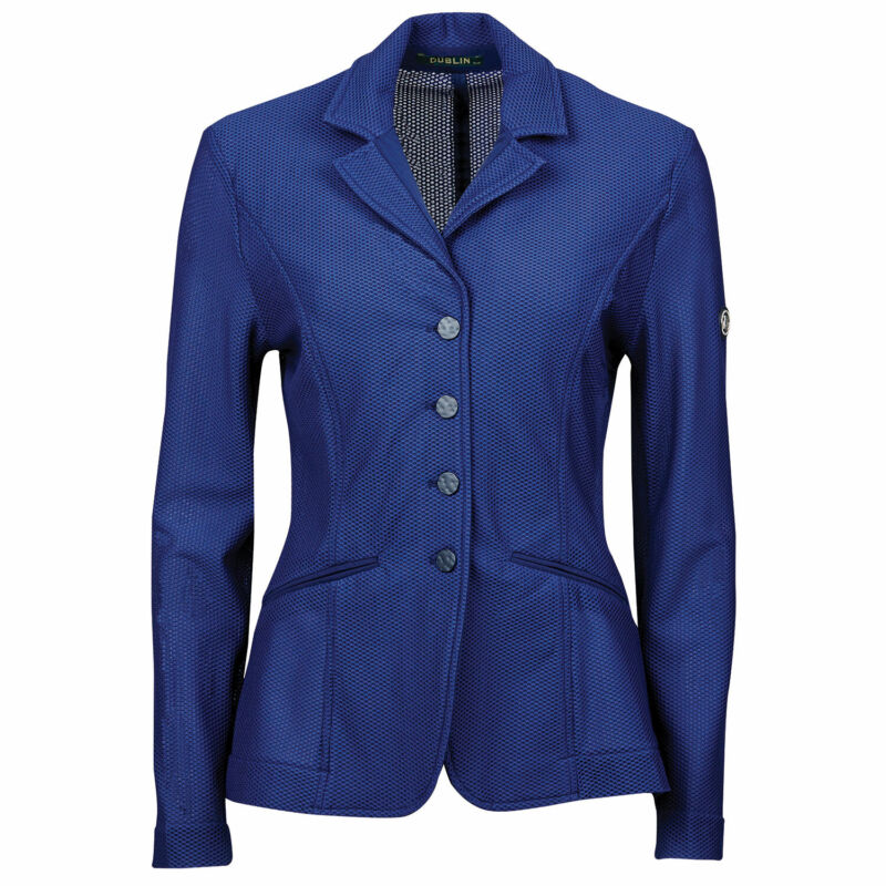 Dublin Hanna Ii Mesh Tailored Womens Jacket Competition Jackets - Navy All Sizes