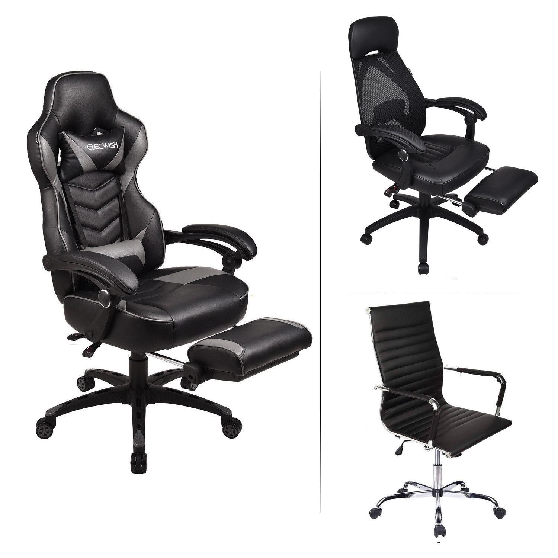 Executive Office Chair Ergonomic Adjustable Swivel Computer
