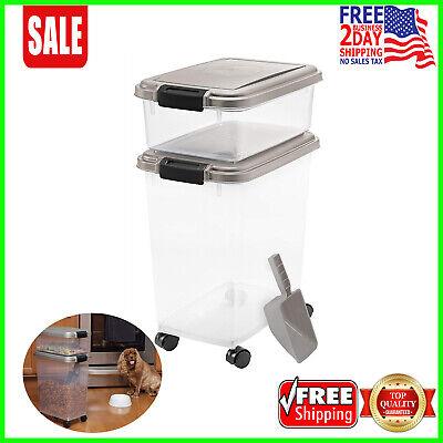 - IRIS 3-Piece Airtight Pet Food Container Combo