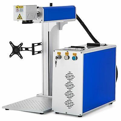 20w Fiber Laser Marking Machine Engrave 150x150mm Laser Focus High Precision
