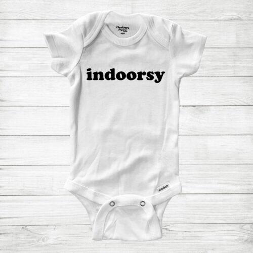 Indoorsy Indoor Homebody Baby Infant Bodysuit