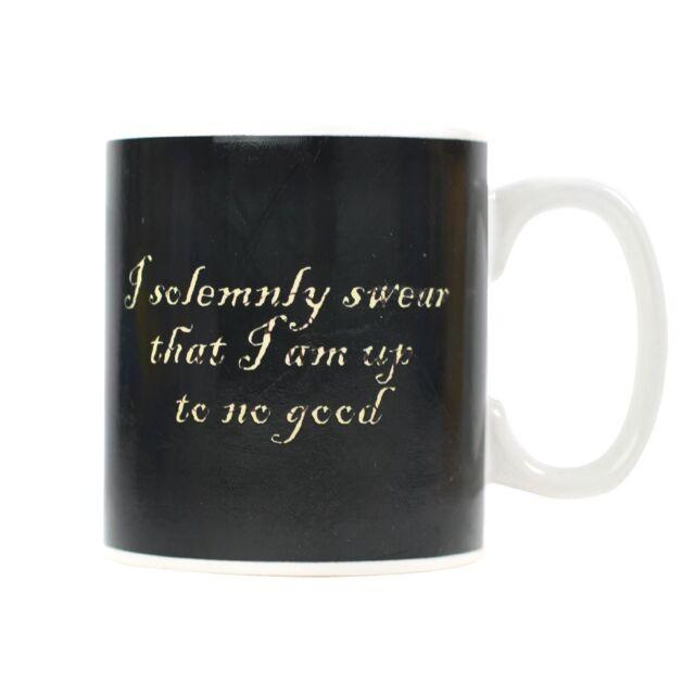harry potter heat changing mug marauders map