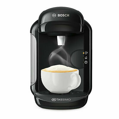 Tassimo by Bosch TAS1402GB Vivy 2 Pod Coffee Machine 1300 Watt Black
