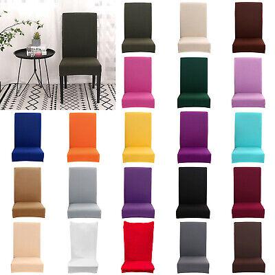 Kunststoff-stuhl Sitzbezüge (4/6-teilig Stretch Sitzbezüge Hochzeitsbankett Esszimmerstuhl Deckel Hotel)