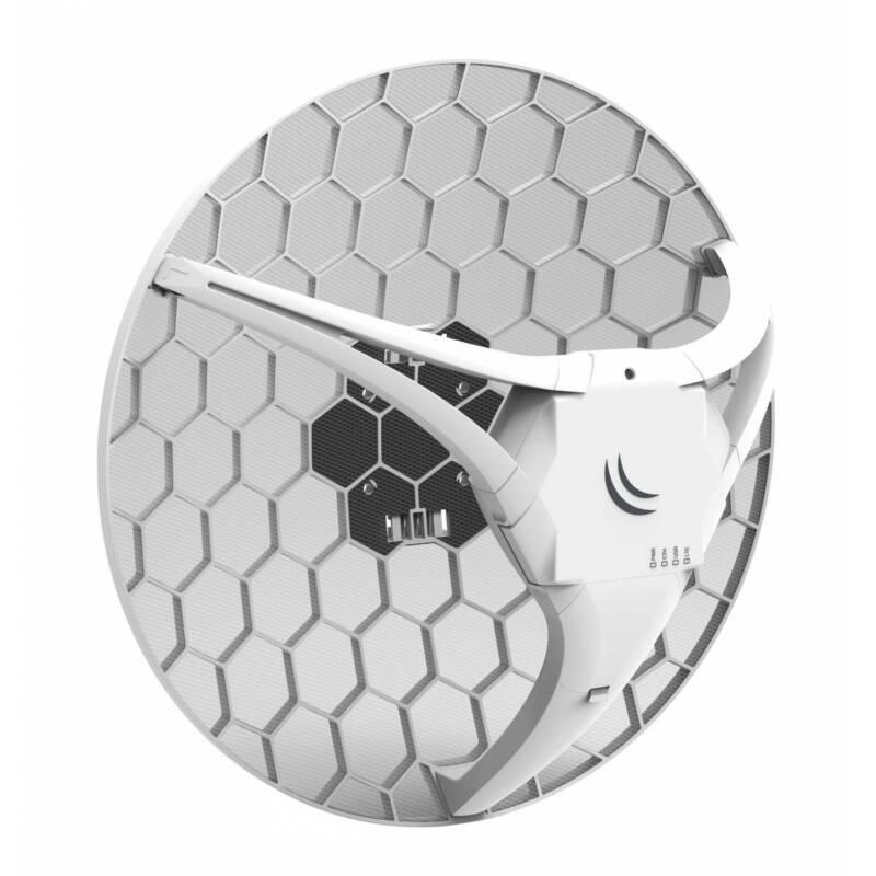 Used Mikrotik RBLHGR&R11e-LTE LHG LTE kit 17dBi Access Point