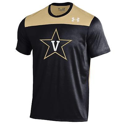 Vanderbilt Commodores Under Armour Ncaa  Defense  Mens Performance S S Shirt