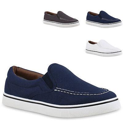 Herren Sneakers Slip-ons Sportliche Slipper Freizeit Schuhe 814774 Mode Herren Schuhe Slip-ons