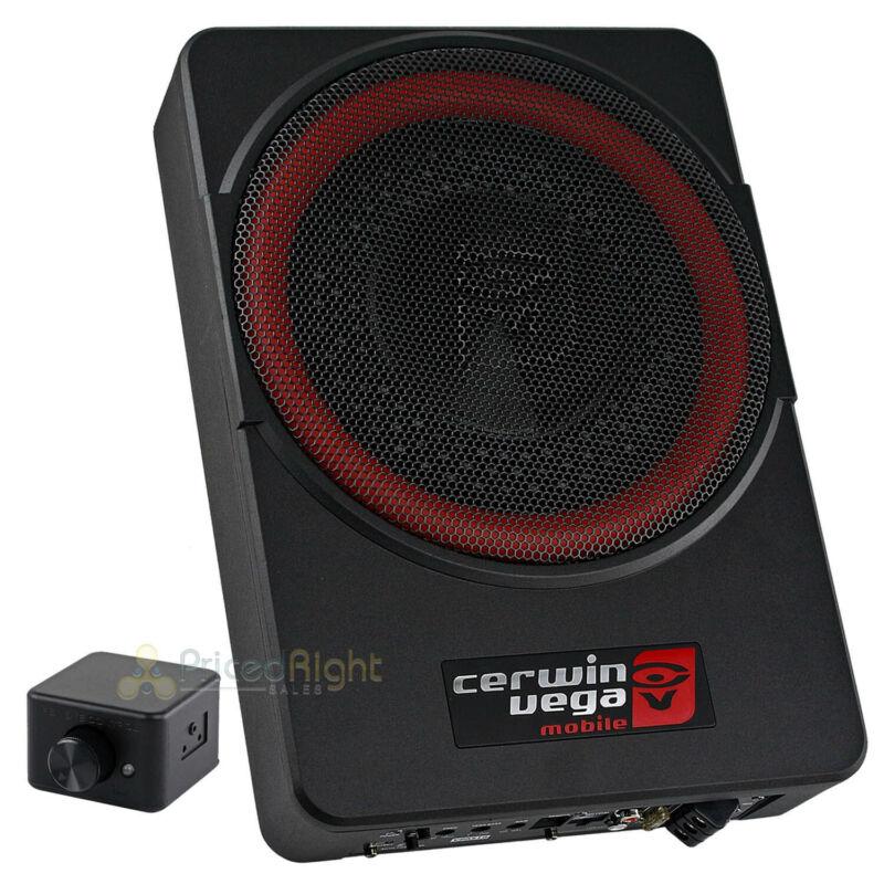 "Cerwin Vega 10"" Low Profile Amplified Subwoofer 550 Watts Max Power Vega VPAS10"