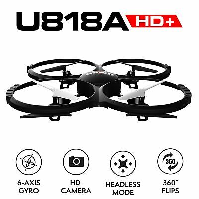 UDI U818A Camera Drone for Kids - HD Drone with Camera for Beginners USA WF