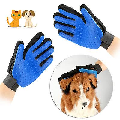 Pet Dog Cat Brush Grooming Hair Remover Bathing Shedding Combing Glove Massage