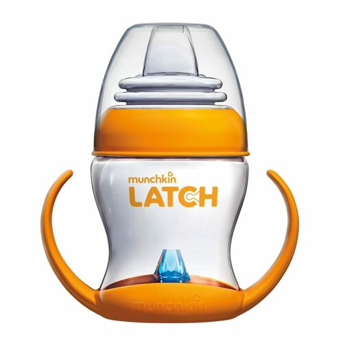 Munchkin Latch Transition Cup 4m+ Orange Baby Sippy Cup