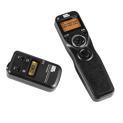 PIXEL TW283/DC2 Wireless Timer Remote shutter release Nikon D7200 D7100 D5500