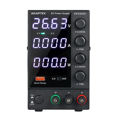 30v 5a Lcd Digital Dc Power Supply 4digit Variable Adjustable Lab Test Equipment