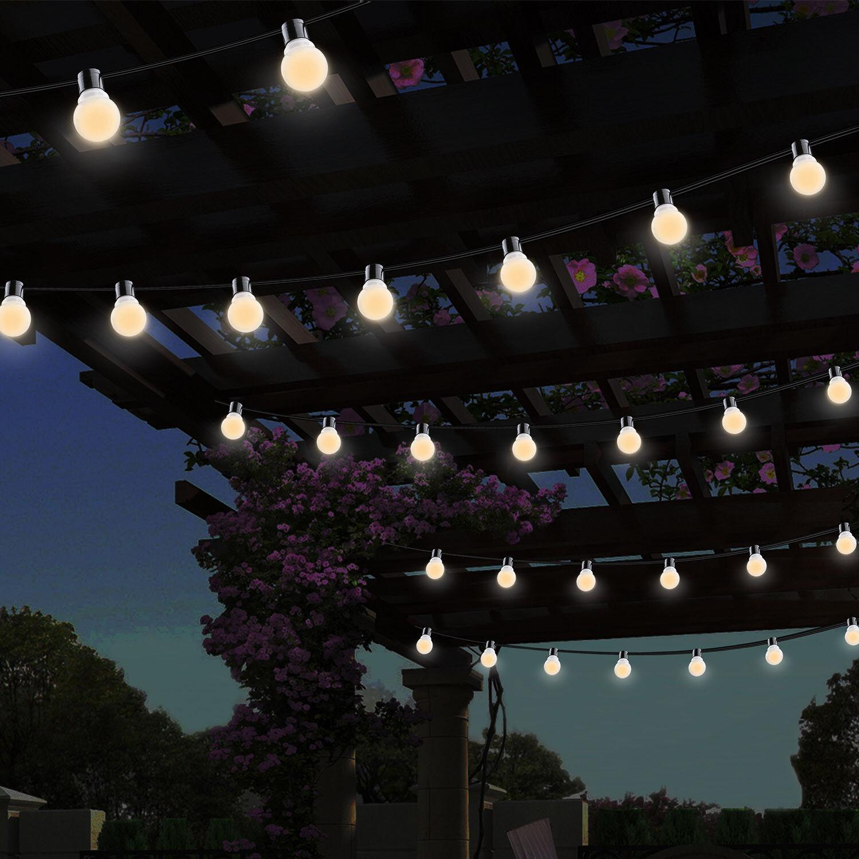 11ft 10led plug in string ball lights