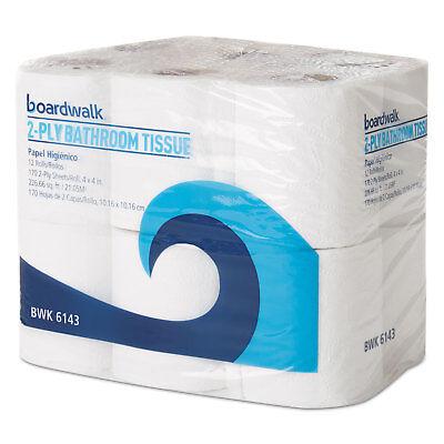 Boardwalk Office Packs Standard Bathroom Tissue 2-Ply White 170 Sheets/RL 96