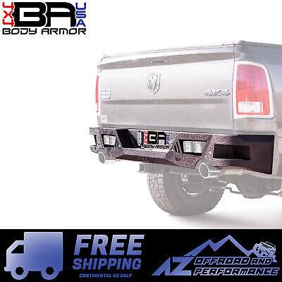 Body Armor 4X4 ECO Series Rear Bumper for 09-18 Dodge Ram 1500  ()