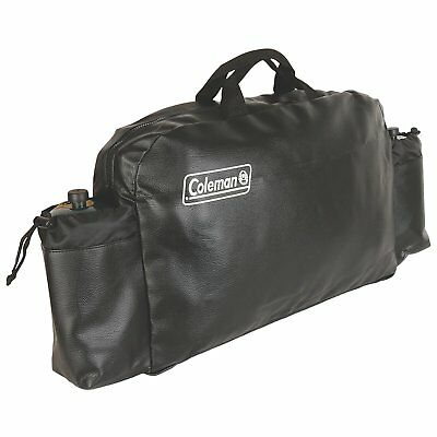 Coleman Stove Carrier Bag Protector Protection Covering w/ Pocket Storage NEW