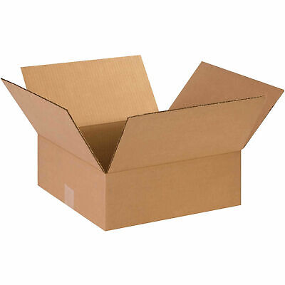 14 X 14 X 5 Flat Cardboard Corrugated Boxes 65 Lbs Capacity 200ect-32
