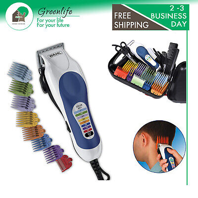 WAHL PRO CLIPPER Barber Haircut Color Trimmer Men Professional Hair Cutting Kit