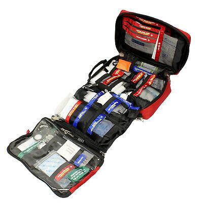 NEW SDS | SURVIVAL FIRST AID KIT - LARGE EMERGENCY SURVIVAL KIT MEDICAL SUPPLIES