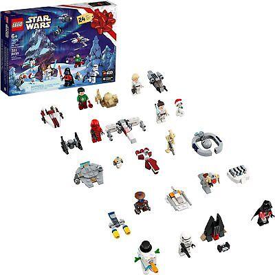 NEW LEGO Star Wars Advent Calendar 75279 Minifigures & Mini builds & Starships