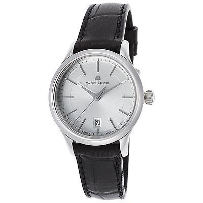 Maurice Lacroix LC1113-SS001-130 Women's Les Classique Silver-Tone Quartz Watch