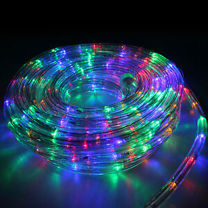 10m-33ft-Colour-LED-Rope-Lights-Outdoor-Tree-Garden-Christmas-Decoration-Lights