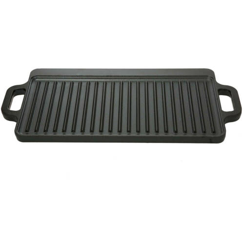 Ozark Trail 9 in Cast Iron Griddle (Reversible, 16.5 x 9 in) NEW FREESHIPPING