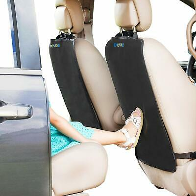 Enovoe Kick Mats - 2 Pack - Premium Quality Car Seat Protector Mat