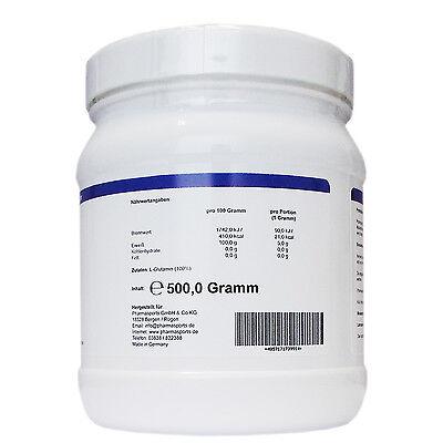 Ultrapures L-Glutamine Powder, 500g - reines Glutamin Pulver im Top Angebot - Reines Glutamin Pulver
