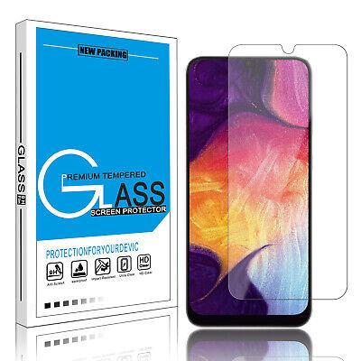 For Samsung Galaxy A10e A20 A30 A50 Protective Tempered Glass Screen Protector