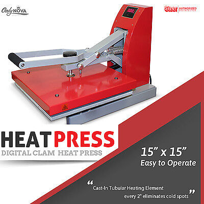 Siser Digital Clam Heat Press 15x15 Free Shipping