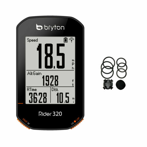 [OFFICIAL] Bryton Rider 320 GPS Bike Computer: Simple but Powerful