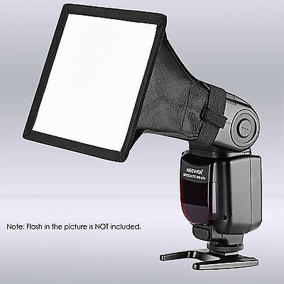Neewer 6x5 inch Flash Softbox Diffuser for Canon YongNuo Nikon Neewer Speedlite