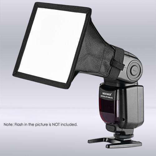 Neewer 6x5 inch Flash Softbox Diffuser for Canon YongNuo Nikon Neewer Speedlite